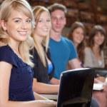 estudantes universitários — Foto Stock