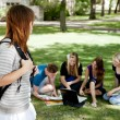 University Students Study Group — Stock Photo #6810457
