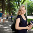Attractive University Student - Stock Photo