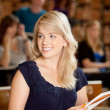 Pretty College Girl — Stock Photo #6811113