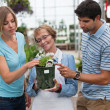 Royalty-Free Stock Photo: Couple shopping for plants