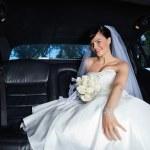 Постер, плакат: Bride in Limousine