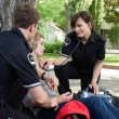 Emergency Medical Professionals — Stock Photo
