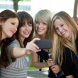 Stock Photo: Self Portrait College Girls