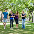 Group of college students — Stock Photo #6992907