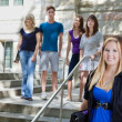 Royalty-Free Stock Photo: Students at college