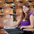 University Student in Lecture hall — Lizenzfreies Foto