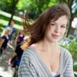 Foto Stock: College Girl