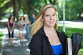 Young College Girl Portrait — Stock Photo