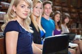 Students in Lecture Hall — Stock Photo