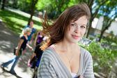 College Girl — Zdjęcie stockowe