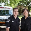 Paramedic Team Portrait — Stock Photo