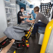 Notfall-Transport-Dienst — Stockfoto