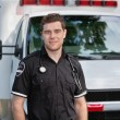 Male Paramedic Portrait — Foto de Stock