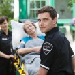 ambulance professional — Stockfoto