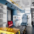 Royalty-Free Stock Photo: Ambulance Interior