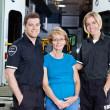Emergency Medical Team Portrait — Stock Photo
