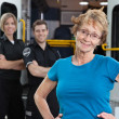 Happy Ambulance Patient — Stock Photo