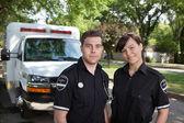 Paramedic Team Portrait — Stock Photo