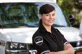Woman Paramedic — Stock Photo