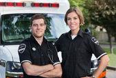 Paramedic Team — Stock Photo