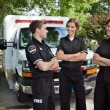 Stock Photo: Candid EMS Professionals