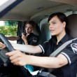 Female EMT Team — Stock Photo