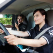 Stock Photo: Female EMT Team