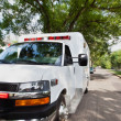 Ambulance on Street - Foto de Stock