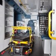 Empty Ambulance Interior — Stock Photo