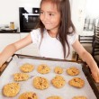 Girl with Cookies — Stock Photo #7334136
