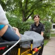 Medical Care Transport - Stock Photo