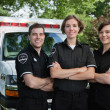 Emergency Medical Team Portrait — Stock Photo