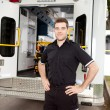 Portrait of a Male Paramedic — Stock Photo #7390258