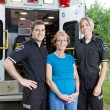 Stock Photo: Ambulance Professionals