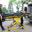 Stock Photo: Ambulance Rush