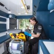 Stock Photo: Emergency Medical Technician