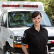 Emergency Medical Worker — Stock Photo