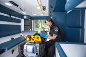 Emergency Medical Technician — Stock Photo