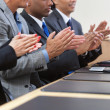Business team applauding - Stock Photo