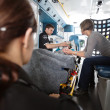 Stock Photo: Ambulance Care Senior Woman