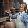 Senior Woman in Garden Center — Stock Photo #7410925