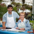 Royalty-Free Stock Photo: Garden Center Employees