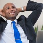 hombre de negocios de éxito — Foto de Stock