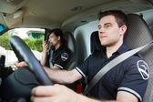Paramedic Ambulance Driver — Stock Photo
