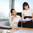 Business Women in Office — Stock Photo #7677393