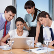 Business Meeting in Office — Stock Photo #7677604