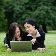 Female Executives Using Laptop — Stock Photo