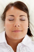 Facial Beauty Acupuncture Treatment — Stock Photo