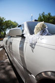 Lüks düğün araba — Stok fotoğraf